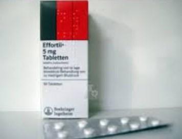 صورة دواء ايفورتيل اقراص Effortil Tablets دواء لتنشيط الدورة الدموية الطرفية