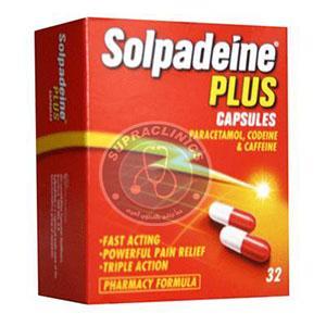 دواء سولبادين فوار وكبسولات مسكنة للألم Solpadeine