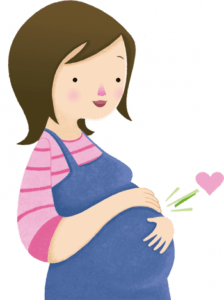 كيف اعرف اني حامل من خط السره