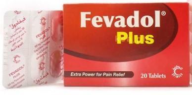 حبوب فيفادول بلص Fevadol Plus النشرة الداخلية