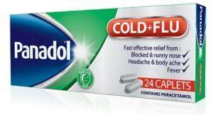 بنادول لعلاج نزلة البرد