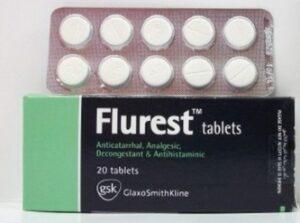 دواء Flurest فلورست لعلاج البرد
