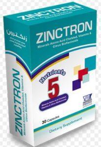 Zinctron Ingredients