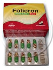 فوليكرون لعلاج نقص لحديد وحمض الفوليك