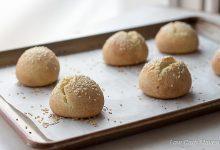 فوائد وطريقة تحضير خبز السمسم الكيتوني