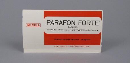 حبوب بارافون لعلاج تشنجات العضلات