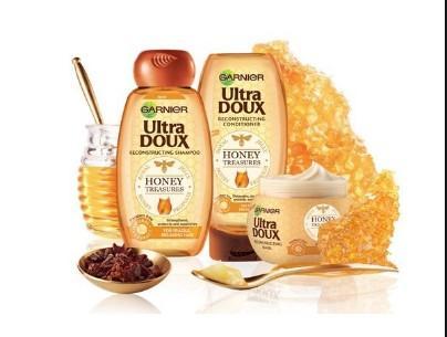 شامبو الترا دو بالعسل Garnier Ultra Doux Honey Treasures Shampoo